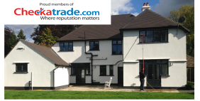 Window cleaners proud members of checkatrade